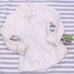 Madewell Canvas Button Down